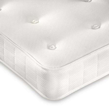 Clay Premium Orthopaedic Coil Sprung Small Double Mattress - Firm Firmness