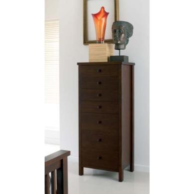 bentley designs atlantis deep oak 7 drawer tall chest furniture123. Black Bedroom Furniture Sets. Home Design Ideas