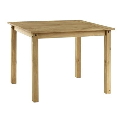 Wondrous Corona Mexican Strong Solid Pine Square Dining Table Seats 4 Machost Co Dining Chair Design Ideas Machostcouk