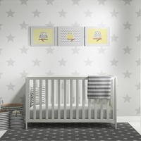 Chase & Eden Cotbed in Ivory White