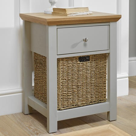 LPD Cotswold Lamp Table in Grey