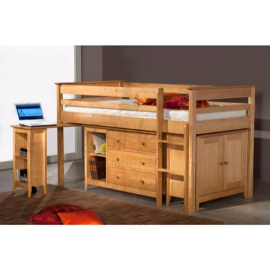 Birlea Furniture Cotswold Antique Pine Sleep Station