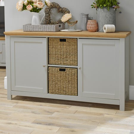 LPD Cotswold Sideboard in Grey