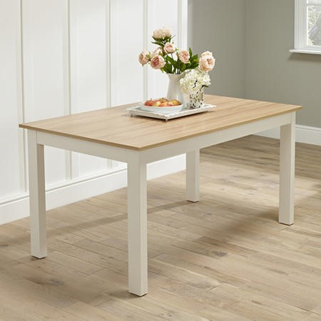 LPD Cotswold Dining Table in Cream