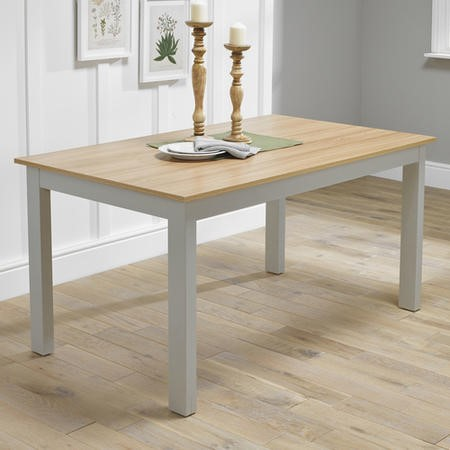 LPD Cotswold Dining Table in Grey
