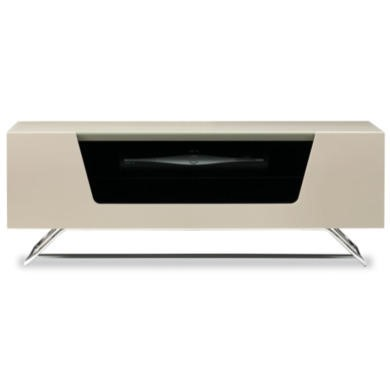 Alphason CRO21000CBIV Chromium Ivory TV Cabinet  Up To 50 Inch