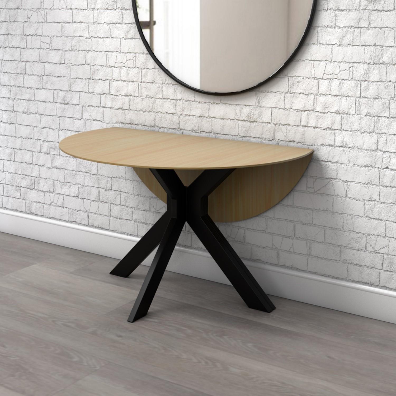 Carson Light Oak Drop Leaf Dining Table, Drop Leaf Dining Room Table