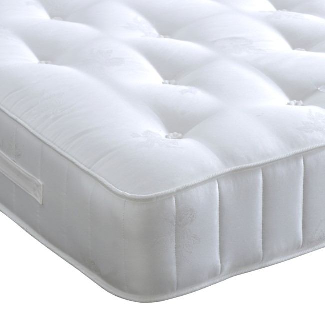 Crystal Pocket Sprung Small Double Mattress - Medium Firmness