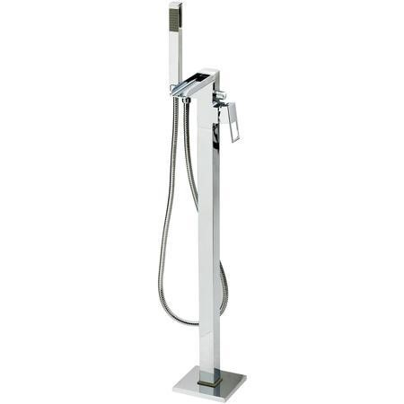 Atlas Square Waterfall Freestanding Bath Tap