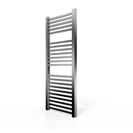 Chrome Towel Radiator Square Rails - 1200 x 500mm