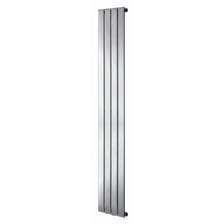 Vertical Panel Chrome Radiator - 1800 x 300mm