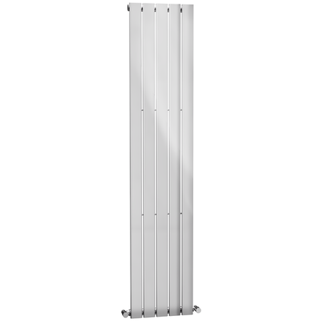 Vertical Panel Chrome Radiator - 1800 x 376mm
