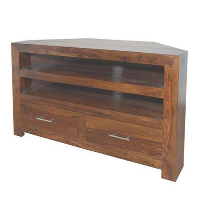 Heritage Furniture Cuba Sheesham Corner TV Unit