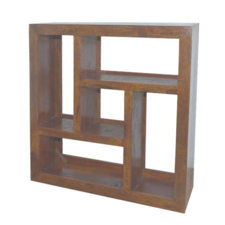 Cuba sheesham square display unit furniture123 for Furniture 123