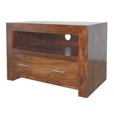 GRADE A1  Heritage Furniture Cuba Sheesham TV Cabinet