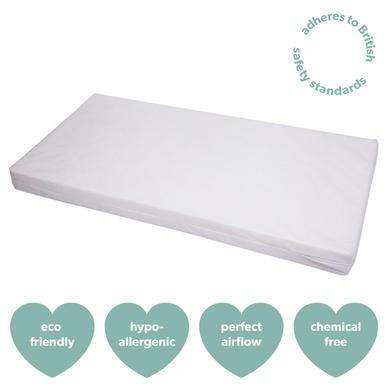 Fibre cot bed mattress - standard size - cub