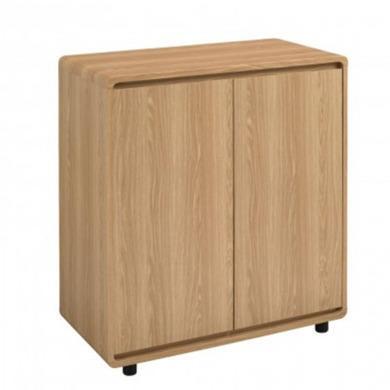 LPD Curve Small Sideboard in Oak