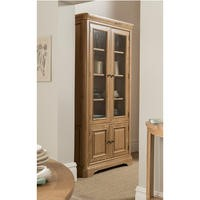 Wilkinson Furniture Carmen Display Unit in Oak
