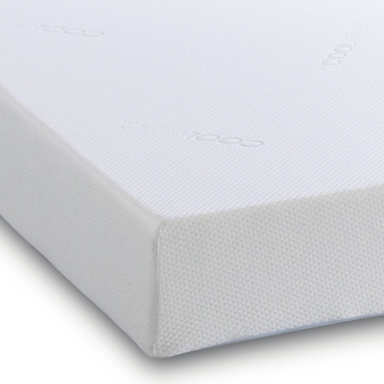 Crystal memory foam 2500 single 3ft mattress