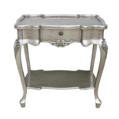Wilkinson Furniture Dauphine Console Table in Silver