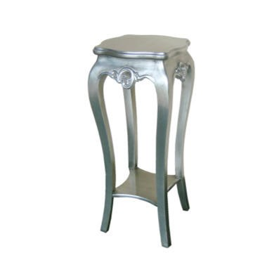 Wilkinson Furniture Dauphine Plant Stand in Silver