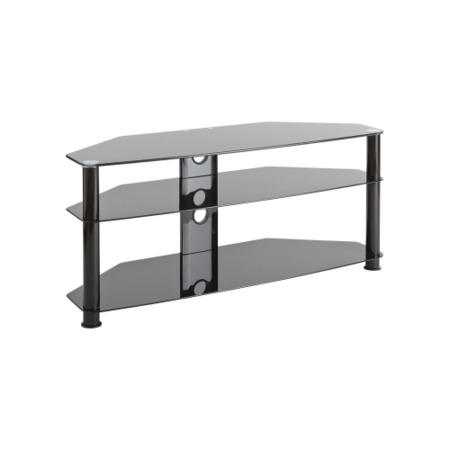 Elmob Db1150 Glass Tv Stand Up To 60 Inch Furniture123