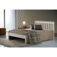Birlea Furniture Denver Double Bed In Ivory