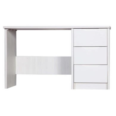 One Call Furniture Avola Premium Plus Dressing Table in White with Cream Gloss