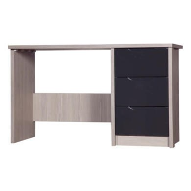 One Call Furniture Avola Premium Plus Dressing Table in Champagne with Grey Gloss