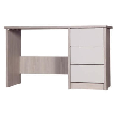 One Call Furniture Avola Premium Plus Dressing Table in Champagne with Sand Gloss