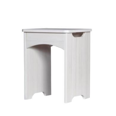 One Call Furniture Avola Premium Plus Stool in White