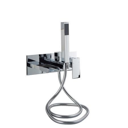 Atlas Wall Mounted Waterfall Bath Shower Mixer Tap