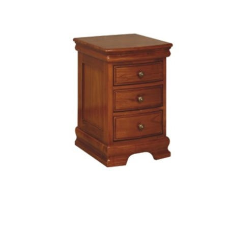 Wilkinson Furniture Dumont Solid Wood 3 Drawer Bedside