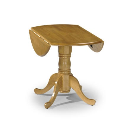 Julian Bowen Dundee Drop Leaf Dining Table in Natural