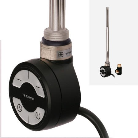 Terma MOA 1000W Heating Element Black + T-Piece