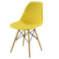 GRADE A1 - LPD Eiffel Chairs Set of 4 in Yellow