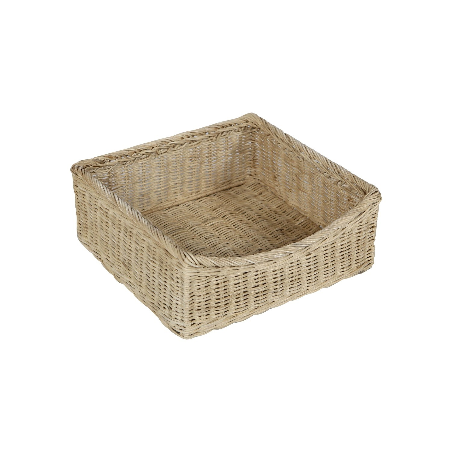 Astounding Grade A1 White Wooden Shoe Rack Storage Bench With Wicker Baskets Elms Farmhouse Onthecornerstone Fun Painted Chair Ideas Images Onthecornerstoneorg