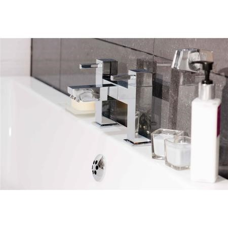 Piazza Bath Filler MIxer Tap