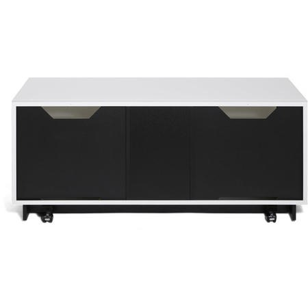 "Alphason EMT1250XL-WHI Element XL Modular White TV Stand for up to 60"" TVs"