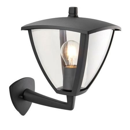 Seraph Outdoor Wall Light IP44 in Dark Grey - Contemporary IP44