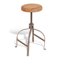 Signature North Aiden Loft Industrial Screw Stool