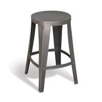 Signature North Aiden Loft Industrial Low Toolshop stool
