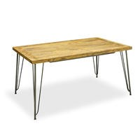 Signature North Aiden Loft Solid Wood Retro Dining Table