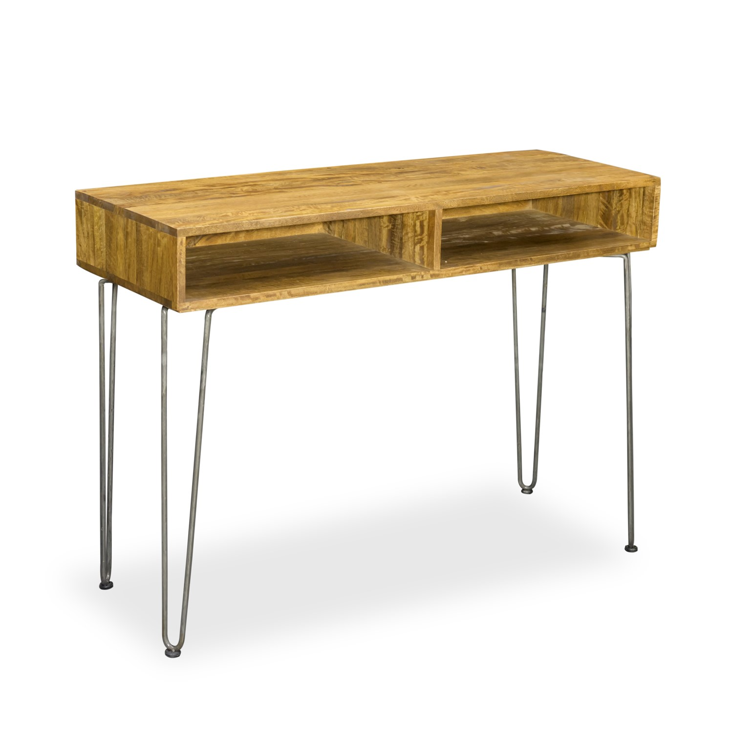Signature North Aiden Loft Solid Wood Industrial Retro Console Table
