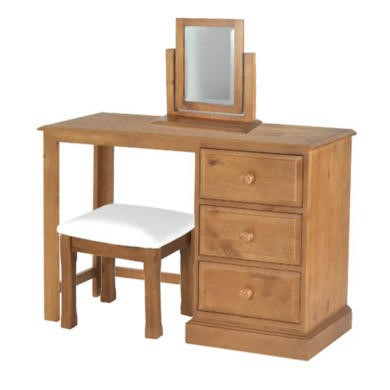 Heritage Furniture Hendon Solid Pine Dressing Table Full Set