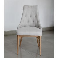 GRADE A1 - Devall Upholstered Occasional Chair in Rich Stone