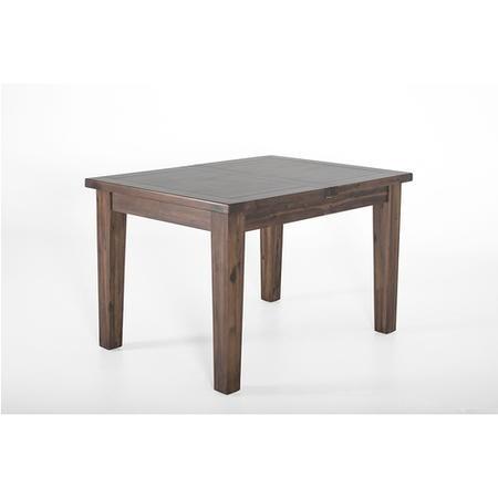Vida Living Extendale Dining Table In Walnut Finish