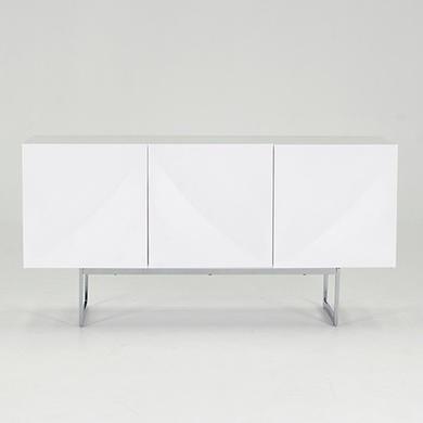 Wilkinson Furniture Essence White High Gloss Sideboard Furniture123