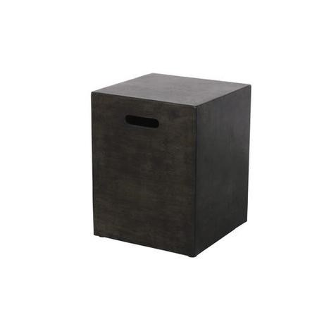 Outdoor Gas Canister Cover in Charcoal Grey