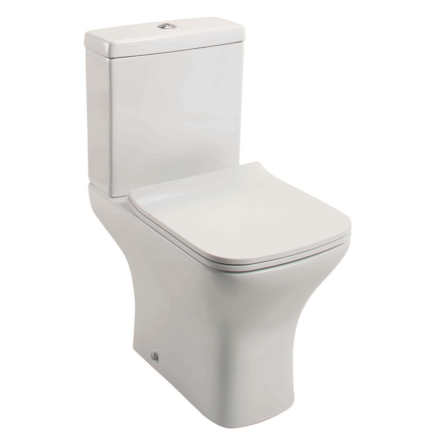 Slim Style Quick Release Easy Clean Toilet Seat